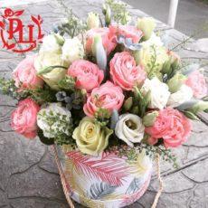 """Коробка с цветами """"Очарование"""""""
