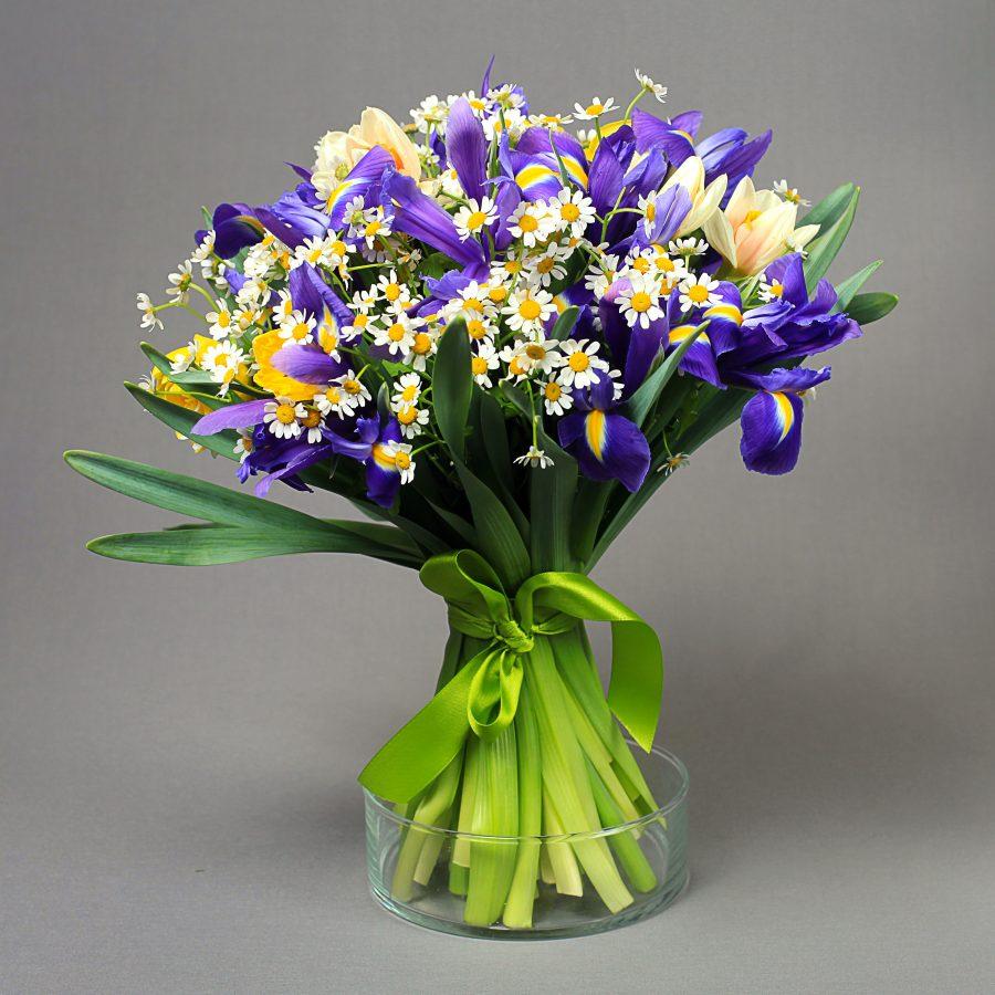 Виды букетных цветов фото с названиями круглый щиток