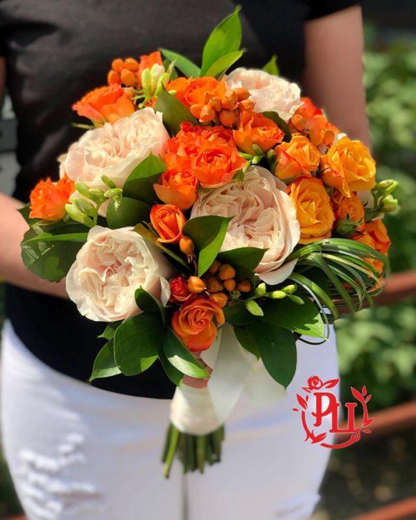 """Свадебный букет """"Orange wedding"""""""