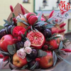"""Букет из фруктов """"Гранатовый вкус"""""""
