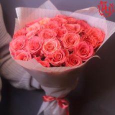 """Букет из 25 роз """"Амстердам"""""""