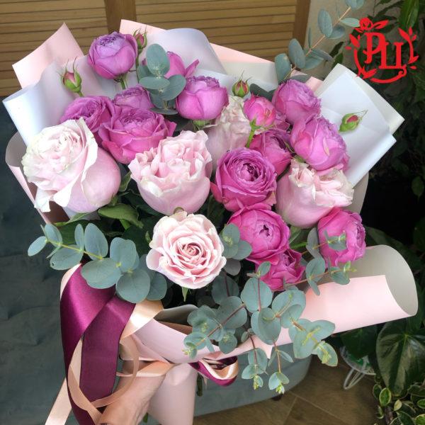 """Букет из роз """"Мерцание"""""""