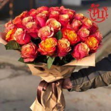 """Букет из 51 розы """"Летнее настроение"""""""